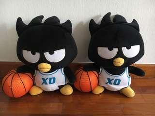 Authentic Bad badtz maru plush - basketball
