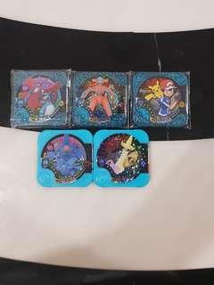 Pokemon tretta v05 Master 3pcs + 2pcs hyper free