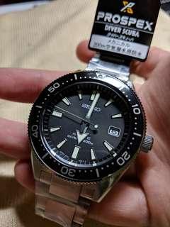 Brand New In Box Seiko SBDC051 Black Diver Prospex For Sale!