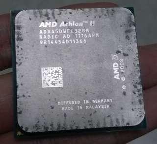 CPU AMD athlon II X3 450