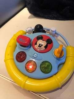 Disney 迪士尼 嬰兒玩具 有音樂