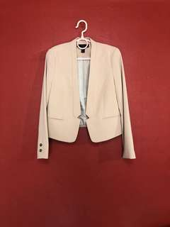 Forever 21 Nude Tailored Blazer