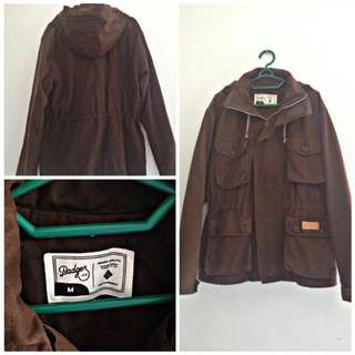 Jaket Parka Badger 90%