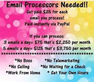 Work from home! Legit daily paid