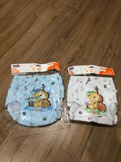 Tollyjoy diaper pants (2pcs as shown in pic)