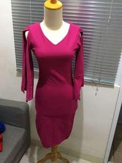 Dress pink seksi