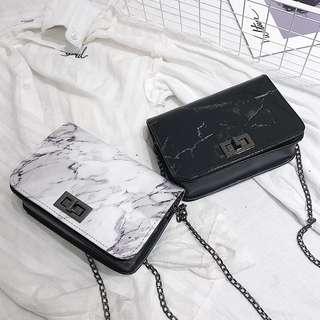 RM22 Readystock  Hari Raya Sale Marble Sling Bag #Ramadan50