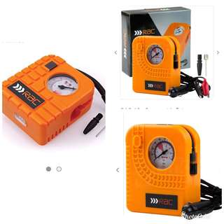 RAC HP223 12V Compact Inflator - Built-In Light