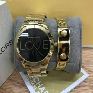 Authentic Quality Michael kors womens'watch (love) goldtone