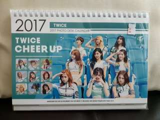 TWICE   cheer up 2017 calendar