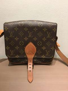Authentic LV cartouchier small