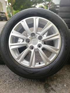 Original sports rim preve 16 inch tyre 80%. *big big offer*