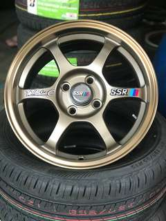 Ssr type c 15 inch sports rim alza vios myvi *kuat kuat offer*