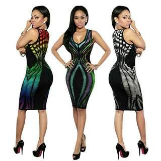 New Rainbow Dress