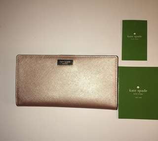Kate Spade Laurel Way Stacy Wallet - Rose Gold