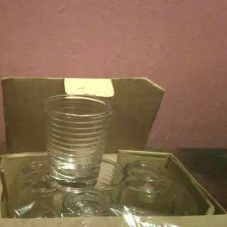 Gelas sloki/ whiski/gelas lilin