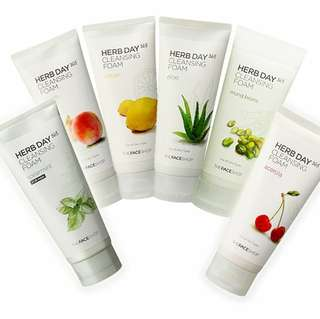 HEBS DAY CLEANSING FOAM