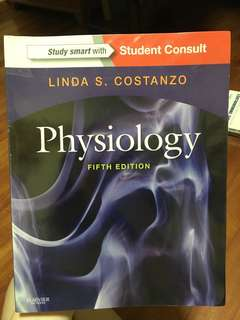 Physiology by Linda Costanzo (5th Edition)