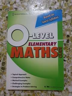 NEW O Level Elementary Maths Guide