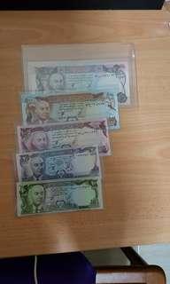 Afghanistan banknotes set