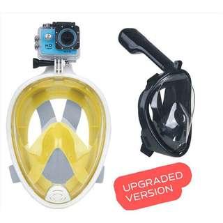 Snorkelling Mask High Class Summer GoPro Camera Holder Snorkel Mask