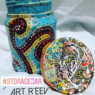 Storage Art Jar