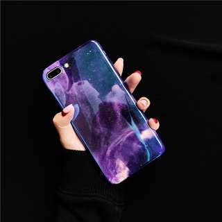 Purple Sky Iphone Case For 6 plus 7plus 8plus Iphone X