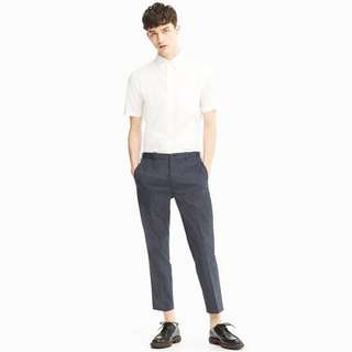 UNIQLO Grey Slim Ankle Pants for Office/Work/Leisure
