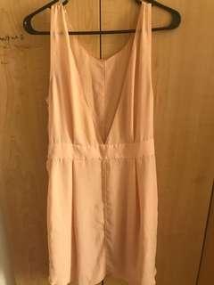 Wilfred Open back dress