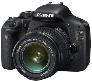 Canon EOS Rebel T2i/550D/Kiss X4