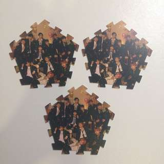 WTS Wanna One IPU Group Tazo Piece Night Ver
