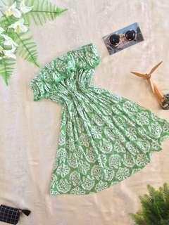 📌REPRICED📌Green Tube Dress