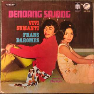 Vivi Sumanti & Frans Daromes 70's Indonesia Psych Pop Garage LP Record Vinyl