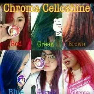 Chroma celloshine color treatment