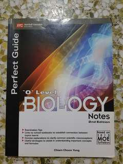 O Level Biology Notes Perfect Guide
