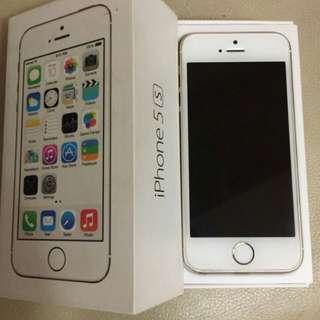 🚚 iPhone 5s 32g 金 10.3.3
