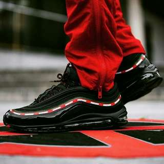 """""""nike air max 97 undefeated black"""""""