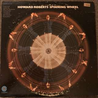 Howard Roberts -Spinning Wheel (1970) Jazz Funk LP Record Vinyl