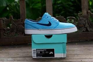 Nike sb zoom stefan janoski blue lagoon original murah