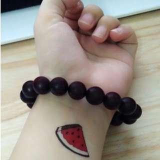 Temporary Tattoo (Watermelon)