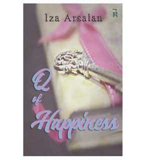 Ebook Q of Happines - Iza Arsalan