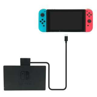 FYOUNG Dock and Charger Extender Cable for Nintendo Switch