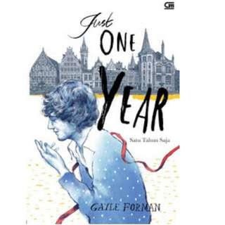 Ebook Satu Tahun Saja (Just One Year) - Gayle Forman