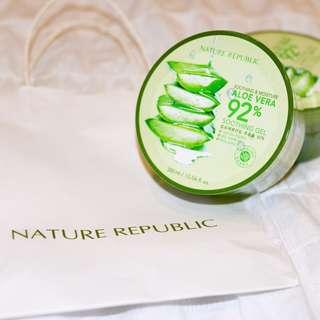 Nature Republic || Aloe Vera 92% 'Soothing Gel'
