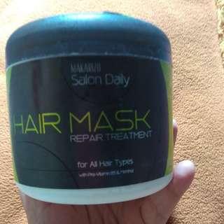 Makarizo Hair Mask (sisa 20%)