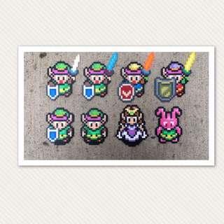 Legend Of Zelda Hama bead Designs