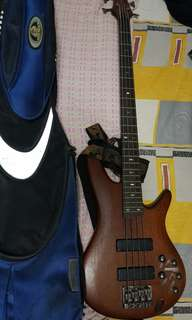 Ibanez SR500 bass guitar for sale with free ritter bass bag