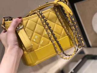 Chanel Gabrielle in yellow
