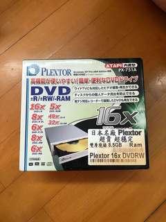 Plextor PX-751a dvd RW 機