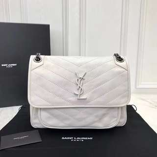 YSL Nikki In White